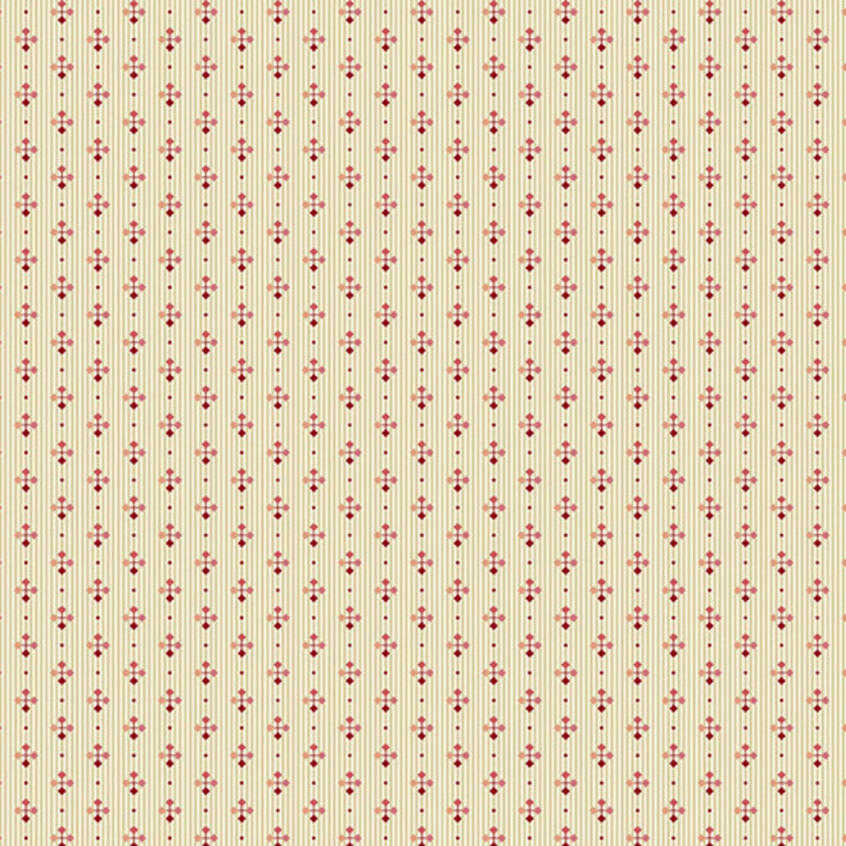 Edyta Sitar Secret Stash - Neutrals, Foulard, Cream (8758-LE) $0.20 per cm or $20/m
