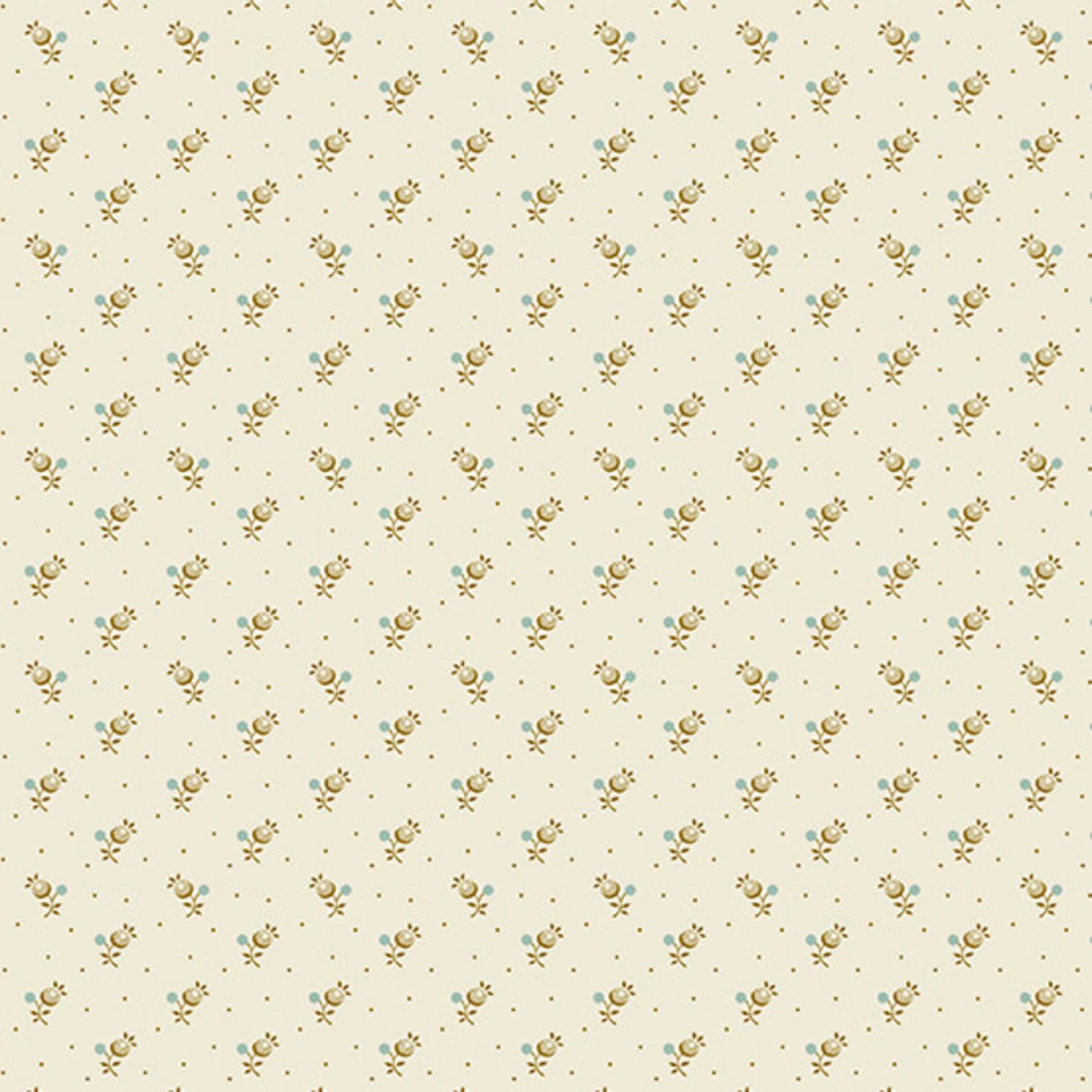 Edyta Sitar Secret Stash - Neutrals, Forget-Me-Not, Cream (9460-L) $0.20 per cm or $20/m