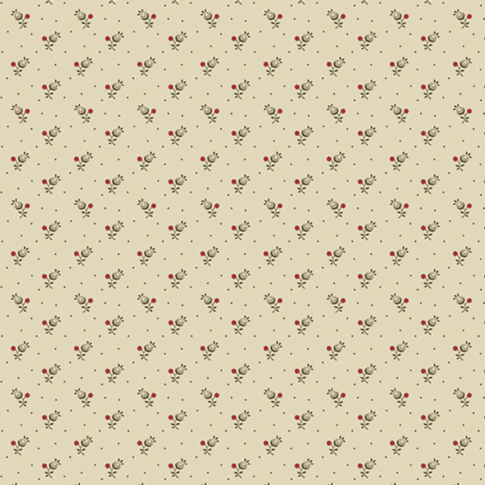 Edyta Sitar Secret Stash - Neutrals, Forget-Me-Not, Tan (9460-N) $0.20 per cm or $20/m