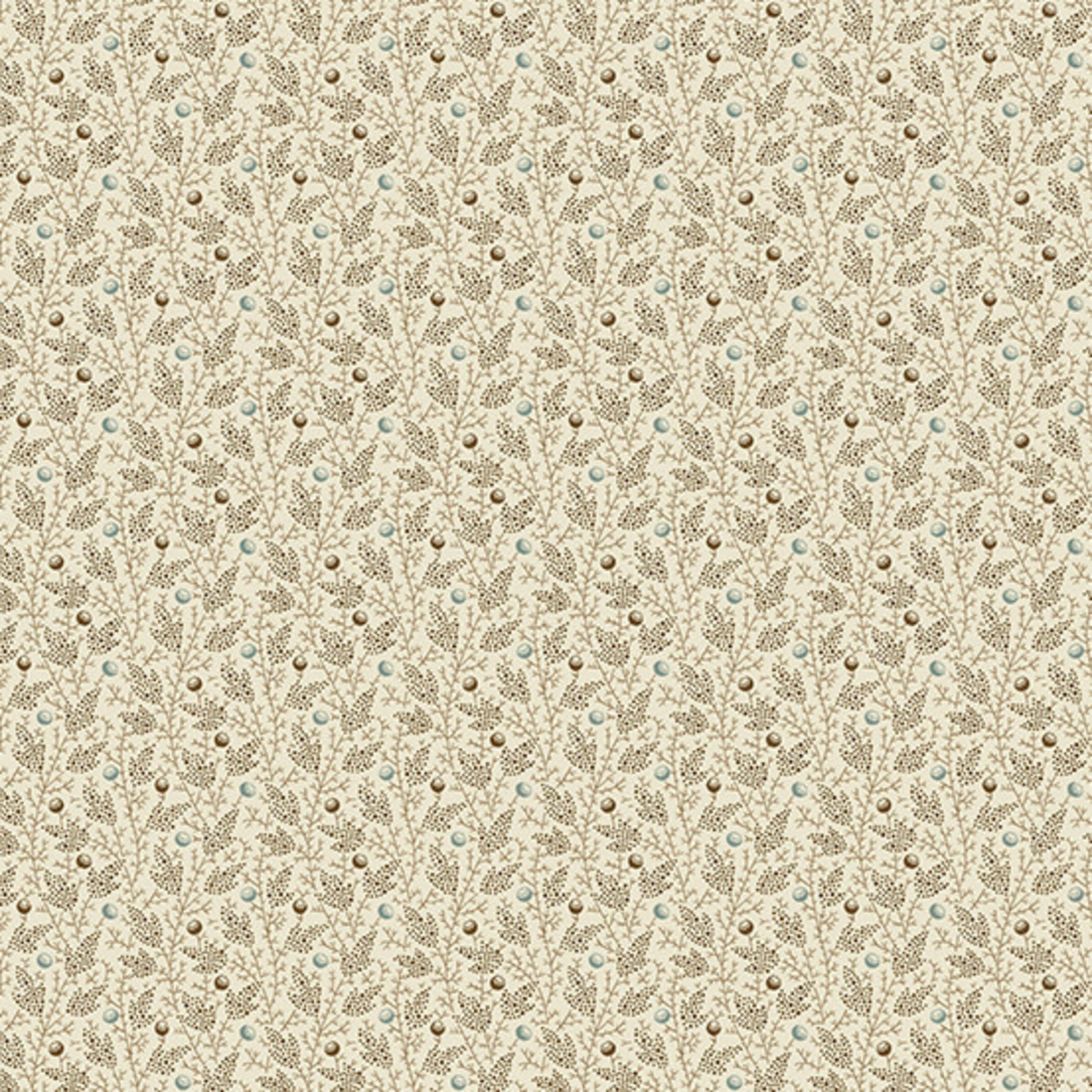 Edyta Sitar Secret Stash - Neutrals, Ivy, Tan (9461-N) $0.20 per cm or $20/m