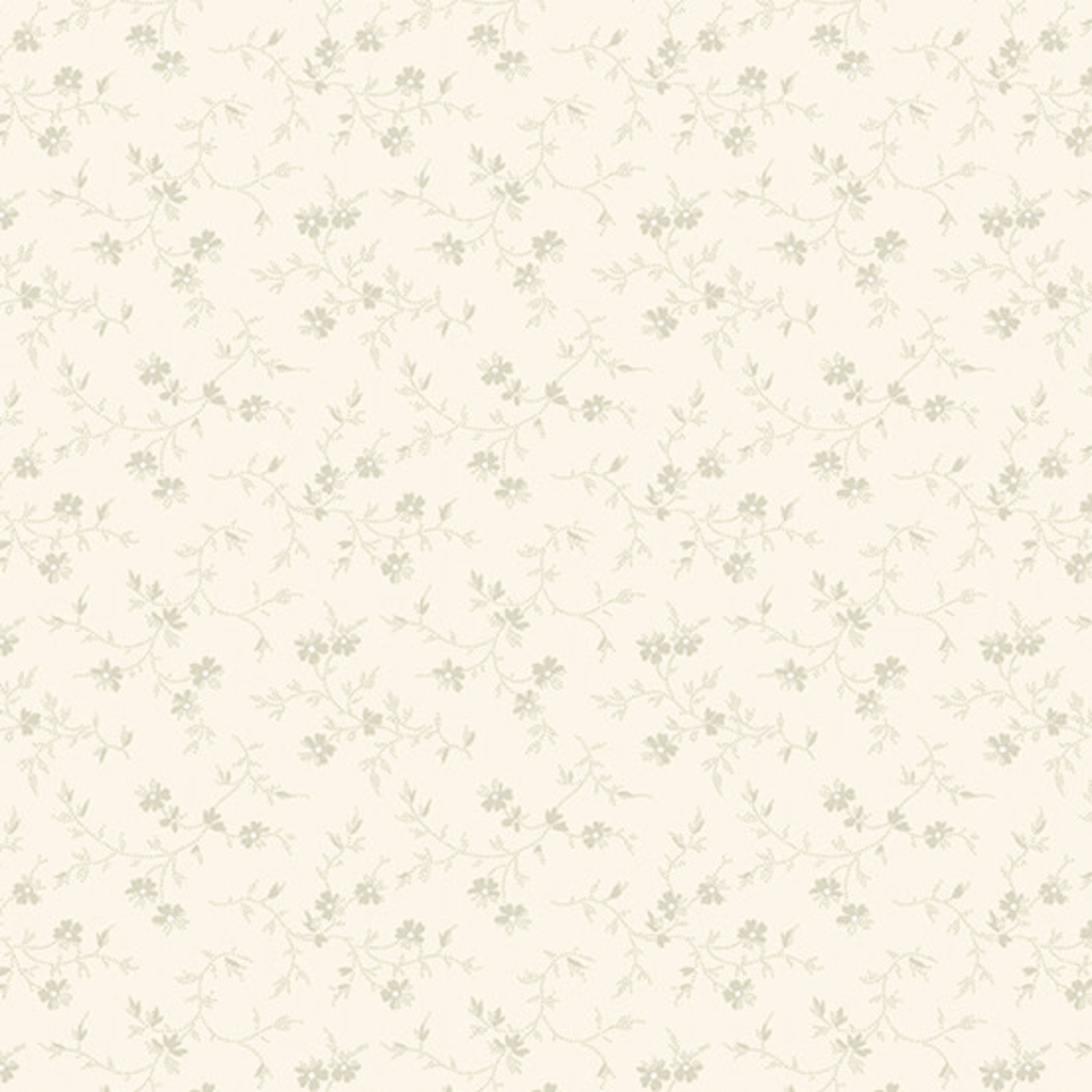 Edyta Sitar Secret Stash - Neutrals, Rosemary, Cream (9561-N) $0.20 per cm or $20/m