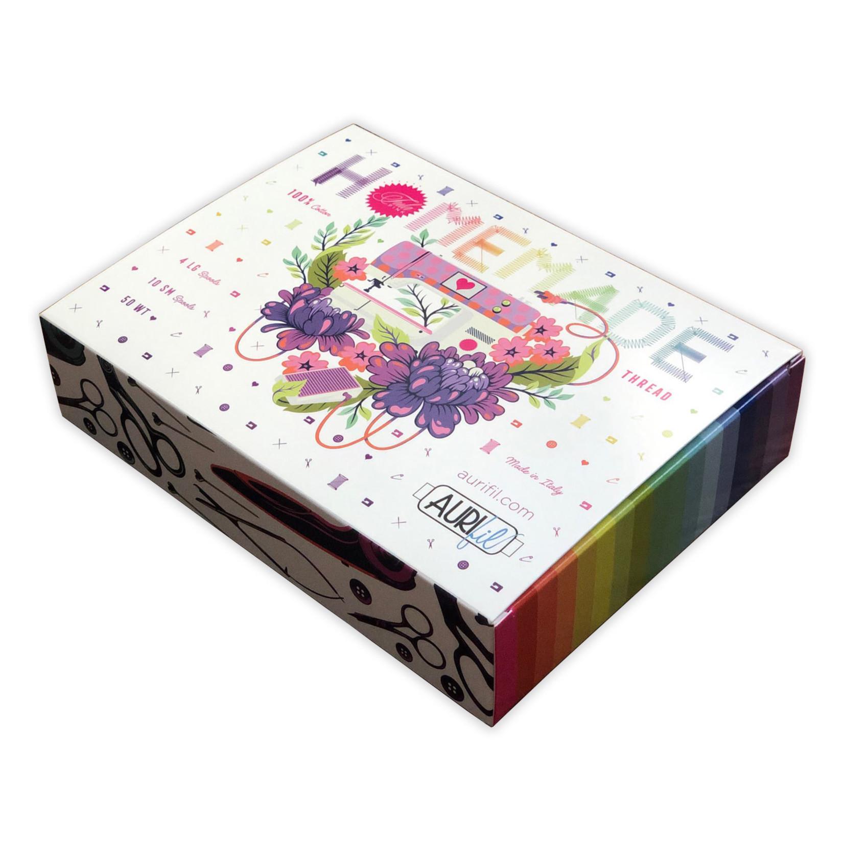Tula Pink HomeMade Thread Collection - Aurifil