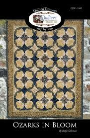 QUILTED TREASURES Ozarks In Bloom Quilt Pattern