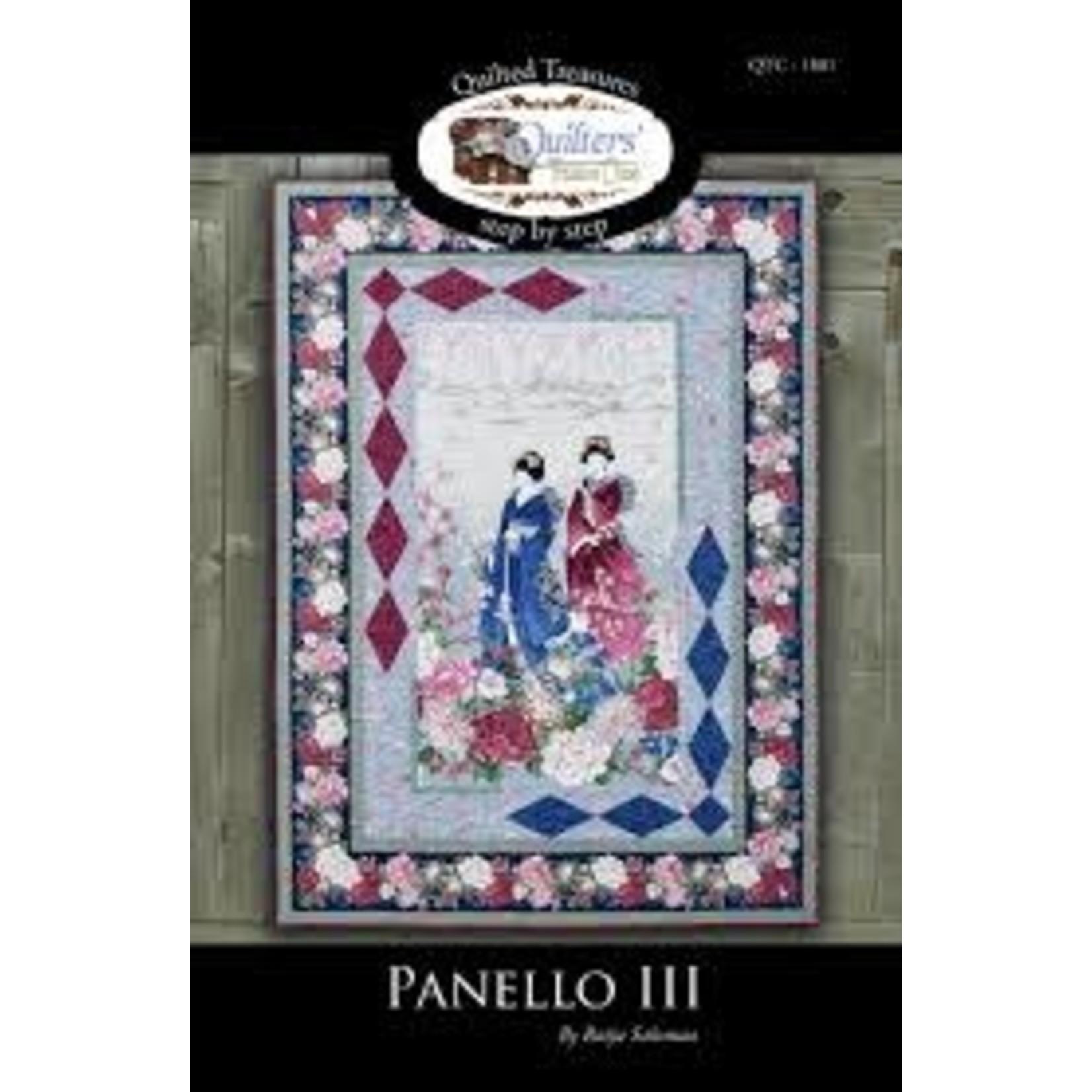 Quilting Treasures Panello III Quilt Pattern