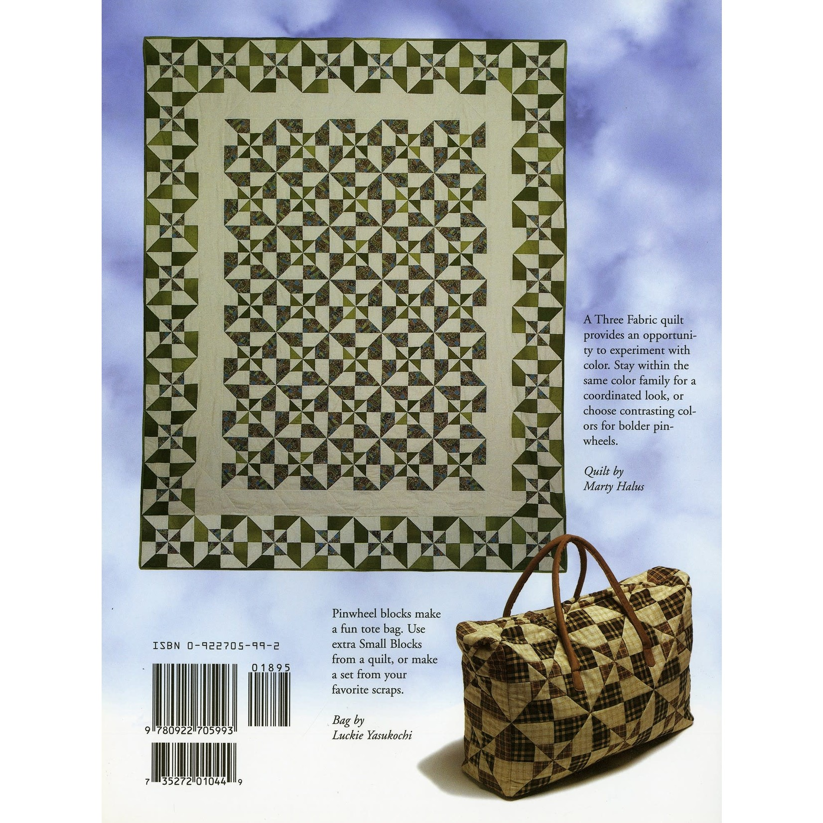 Quilt In A Day Double Pinwheel Quilt Book