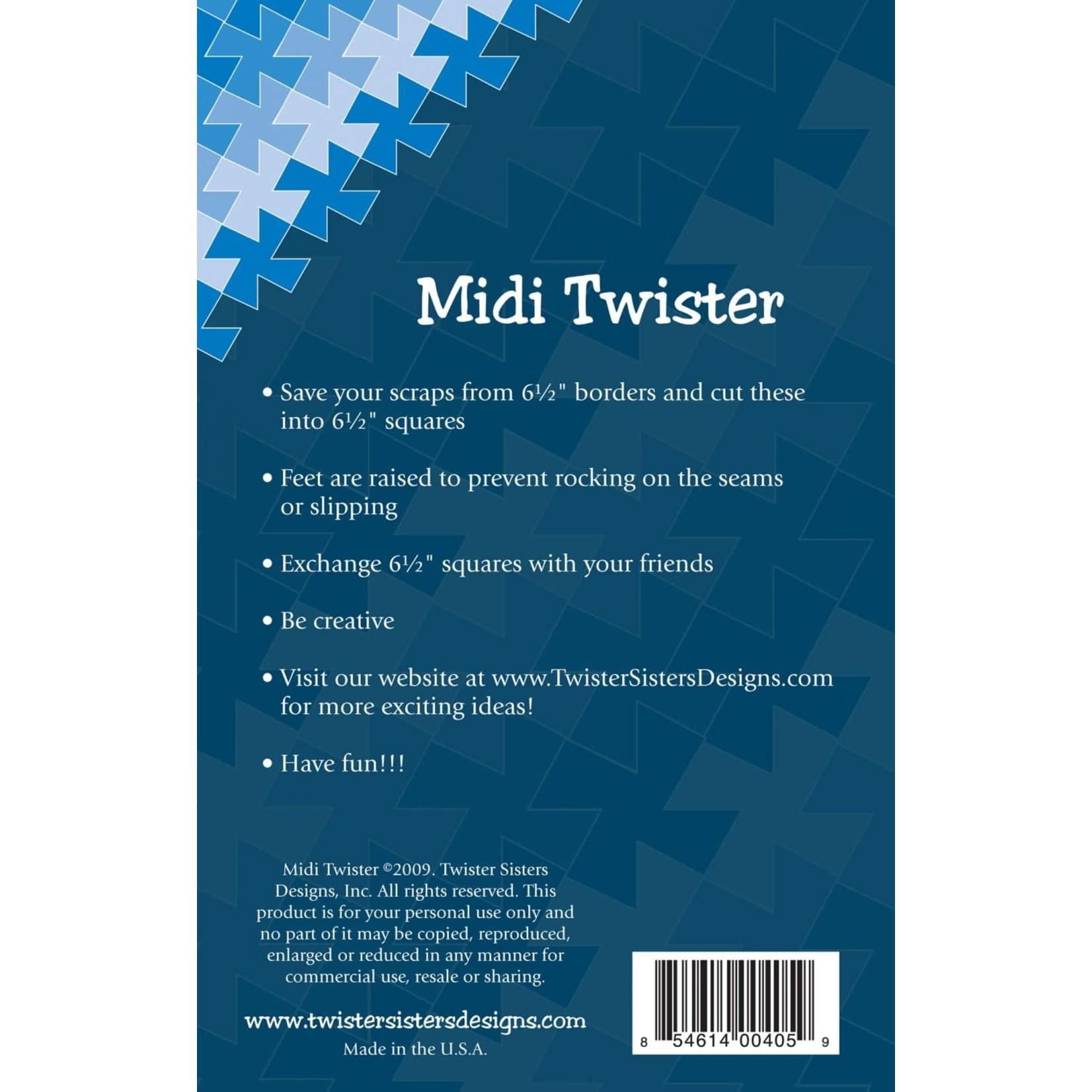 Twister Sisters Midi Twister Pinwheel Template