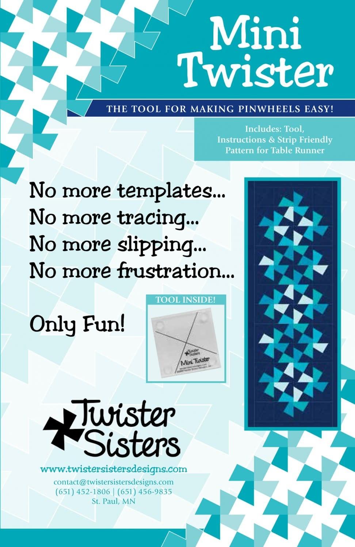 TWISTER SISTERS Mini Twister Ruler