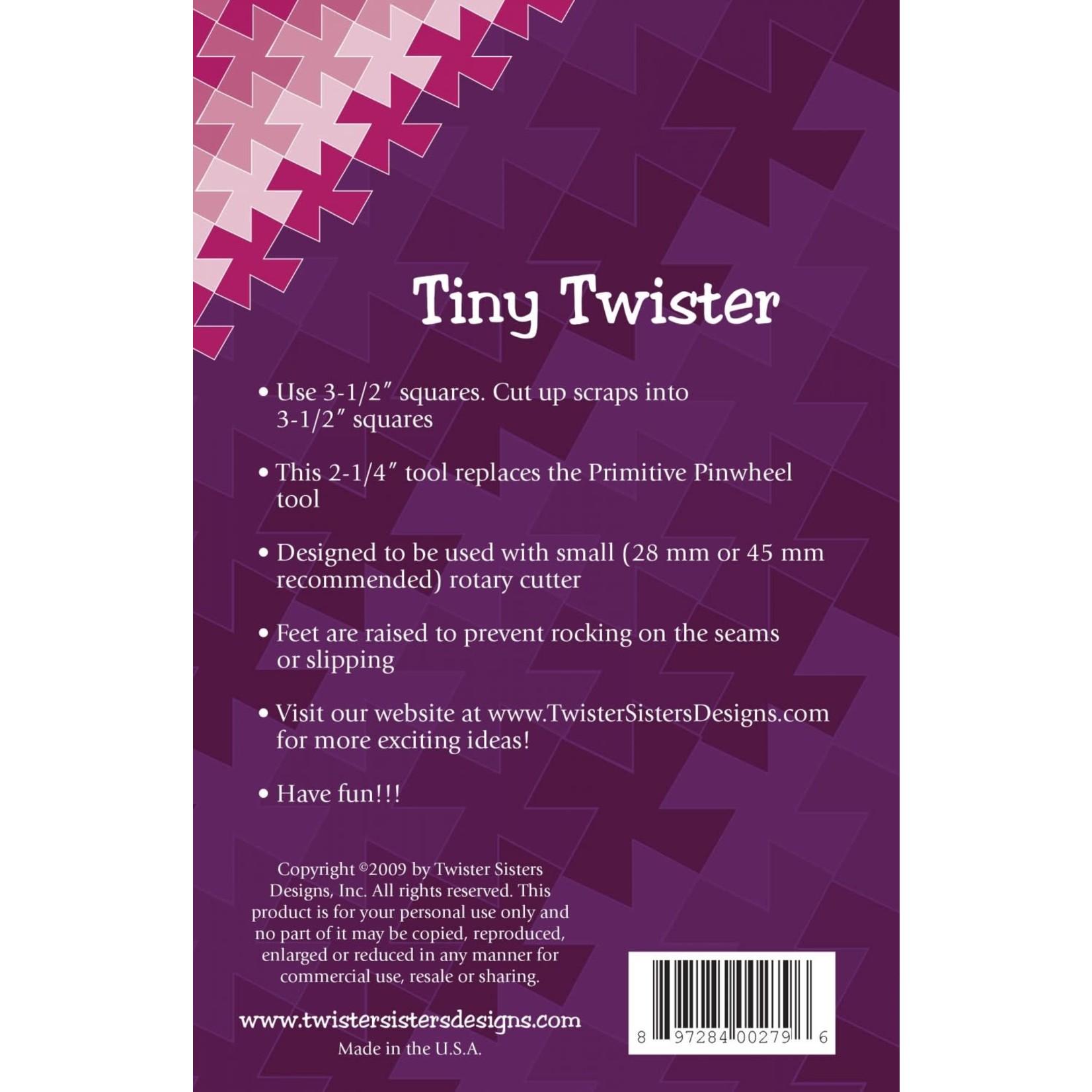 Twister Sisters Tiny Twister Pinwheel Ruler