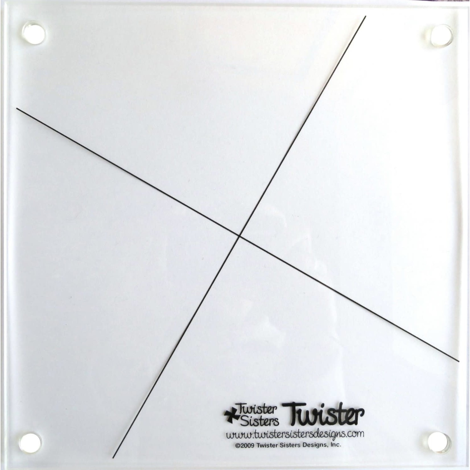 Twister Sisters Twister Pinwheel Ruler