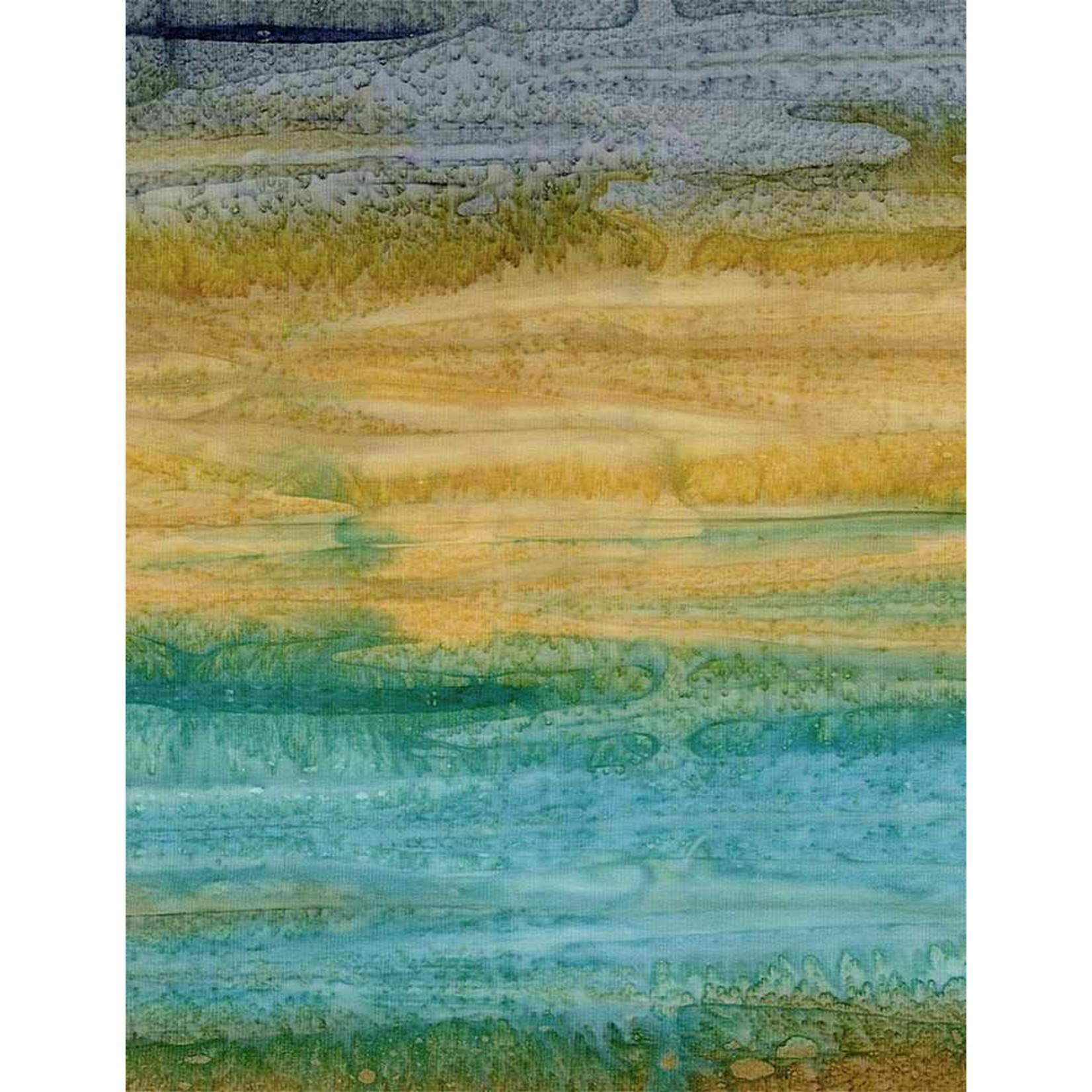 Timeless Treasures Tonga, Impact Watercolour Stripe, Ginger $0.18 per cm or $18/m