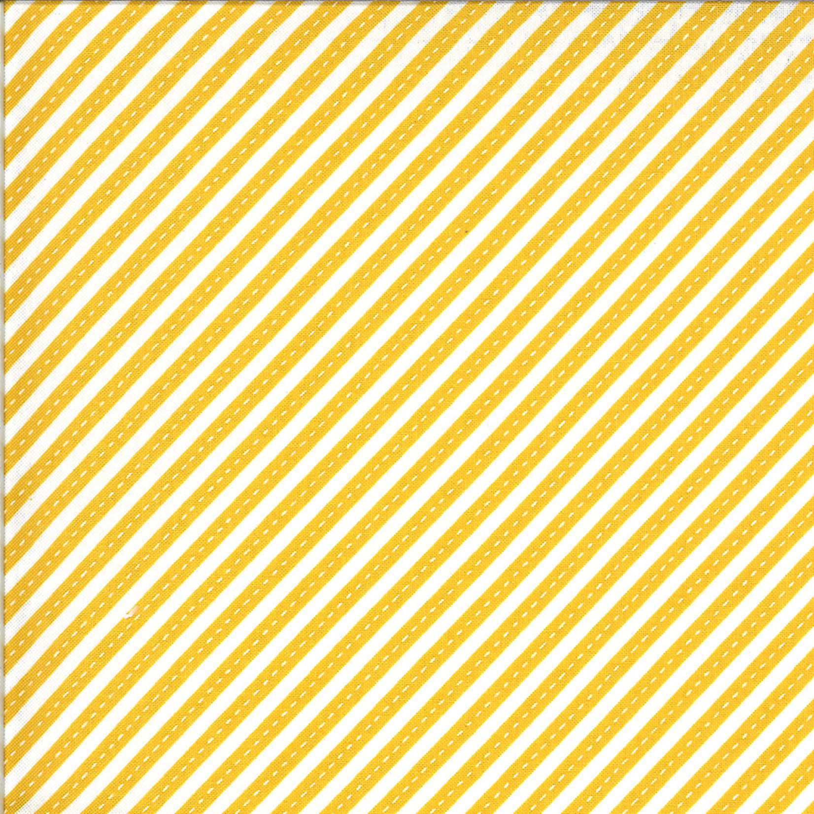 On The Go, Stripes, Backhoe Yellow (20727 17) $0.20 per cm or $20/m
