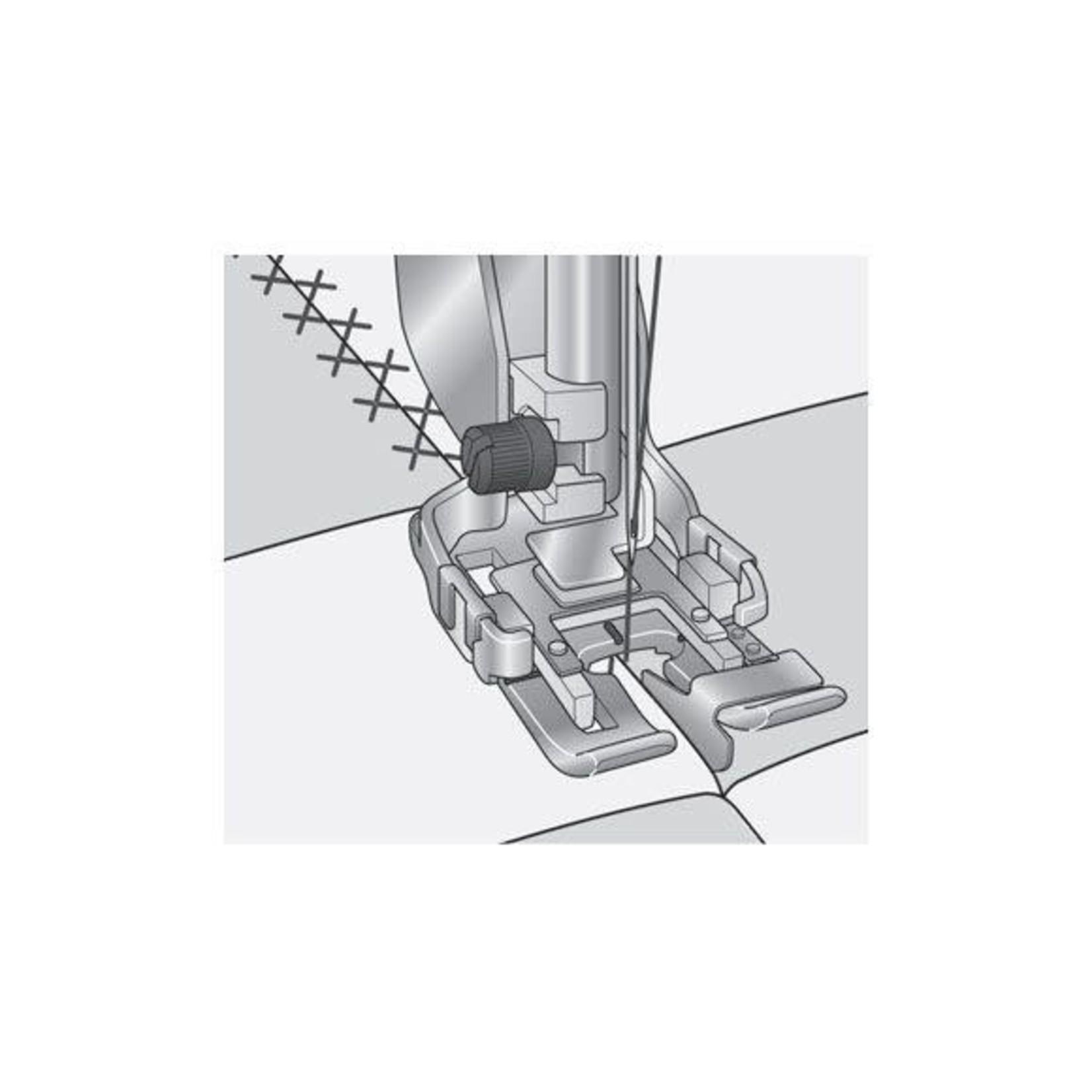 Husqvarna Viking HUSV/VIK CHANGEABLE DECO GUIDE FOOT (steel)