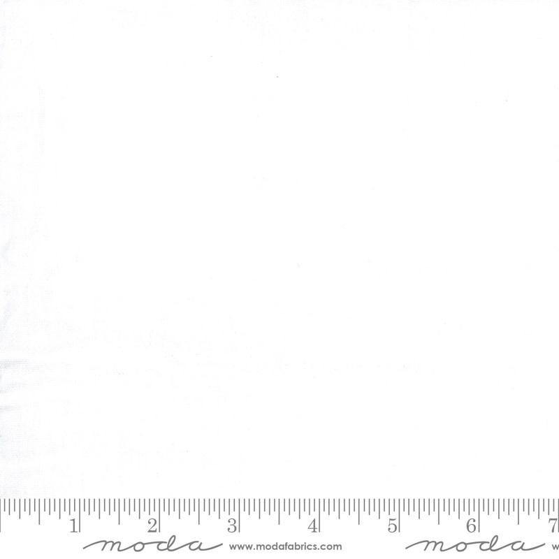 MODA Double Gauze, White 9890 11