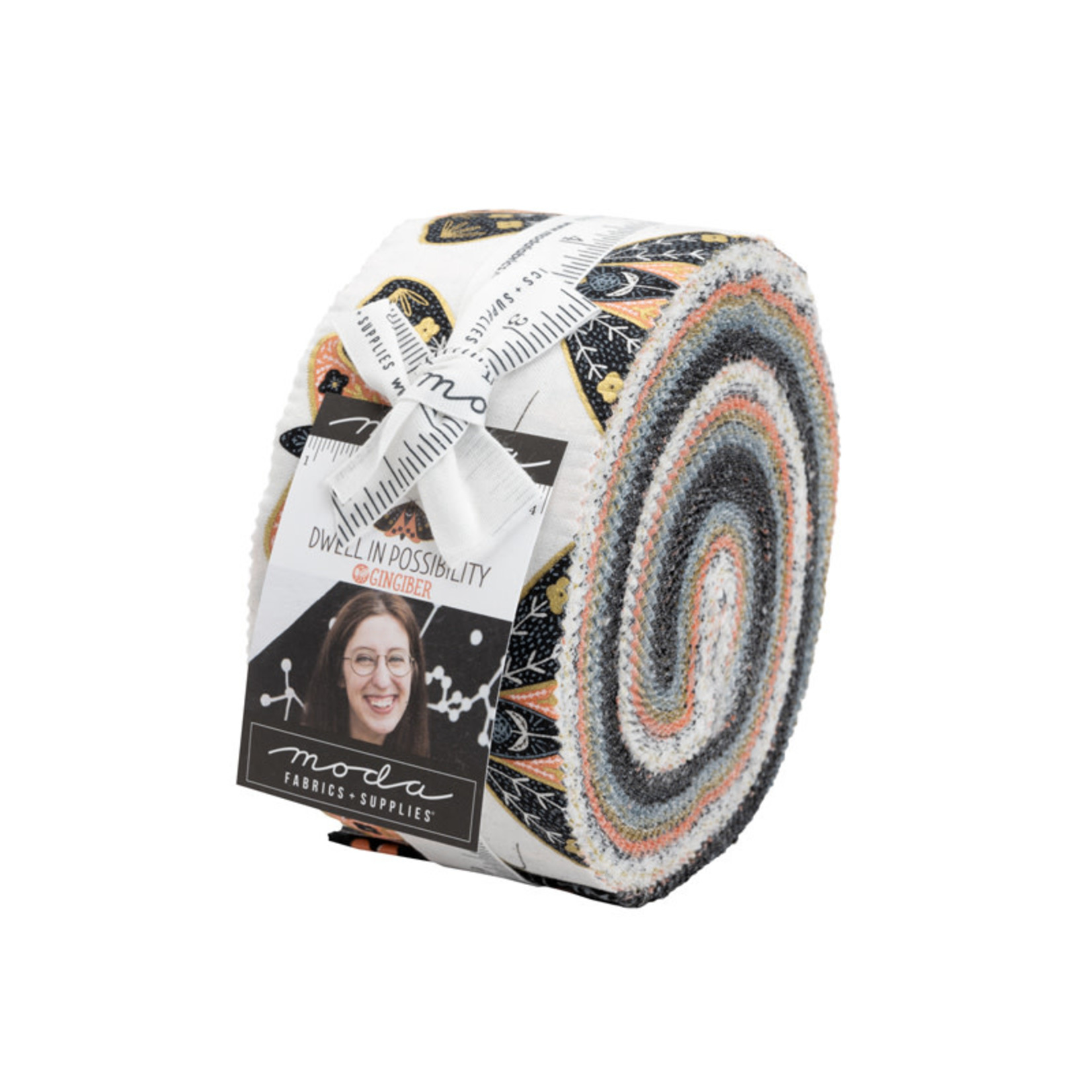 Gingiber Dwell In Possibility Jelly Roll 40pcs