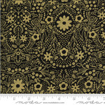 Gingiber Dwell In Possibility, Full Bloom, Night Gold 48312 33M $0.21/cm or $21/m