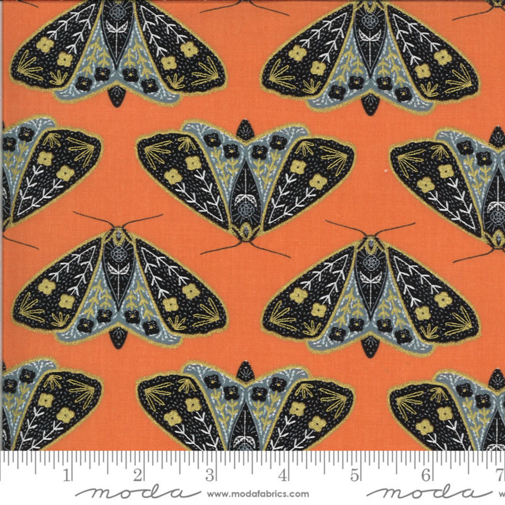 Gingiber Dwell In Possibility, Dainty Moth, Poppy 48311 11M $0.21/cm or $21/m