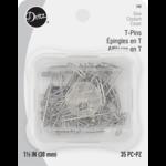 Dritz T-PINS 1 1/2 inch (35 pcs)