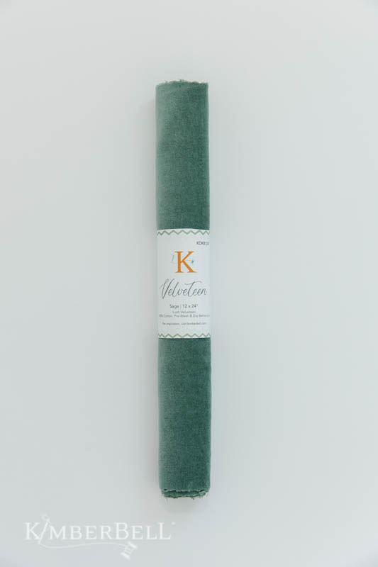 KIMBERBELL DESIGNS Velveteen 12 x 24″ Sage