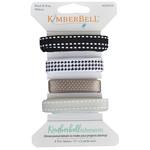 Kimberbell Designs Kimberbellishments Grey & Black Ribbon Set