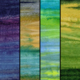 TIMELESS TREASURES Tonga, Impact Watercolour Stripes, Fat 1/4 Bundle - 4 Pcs