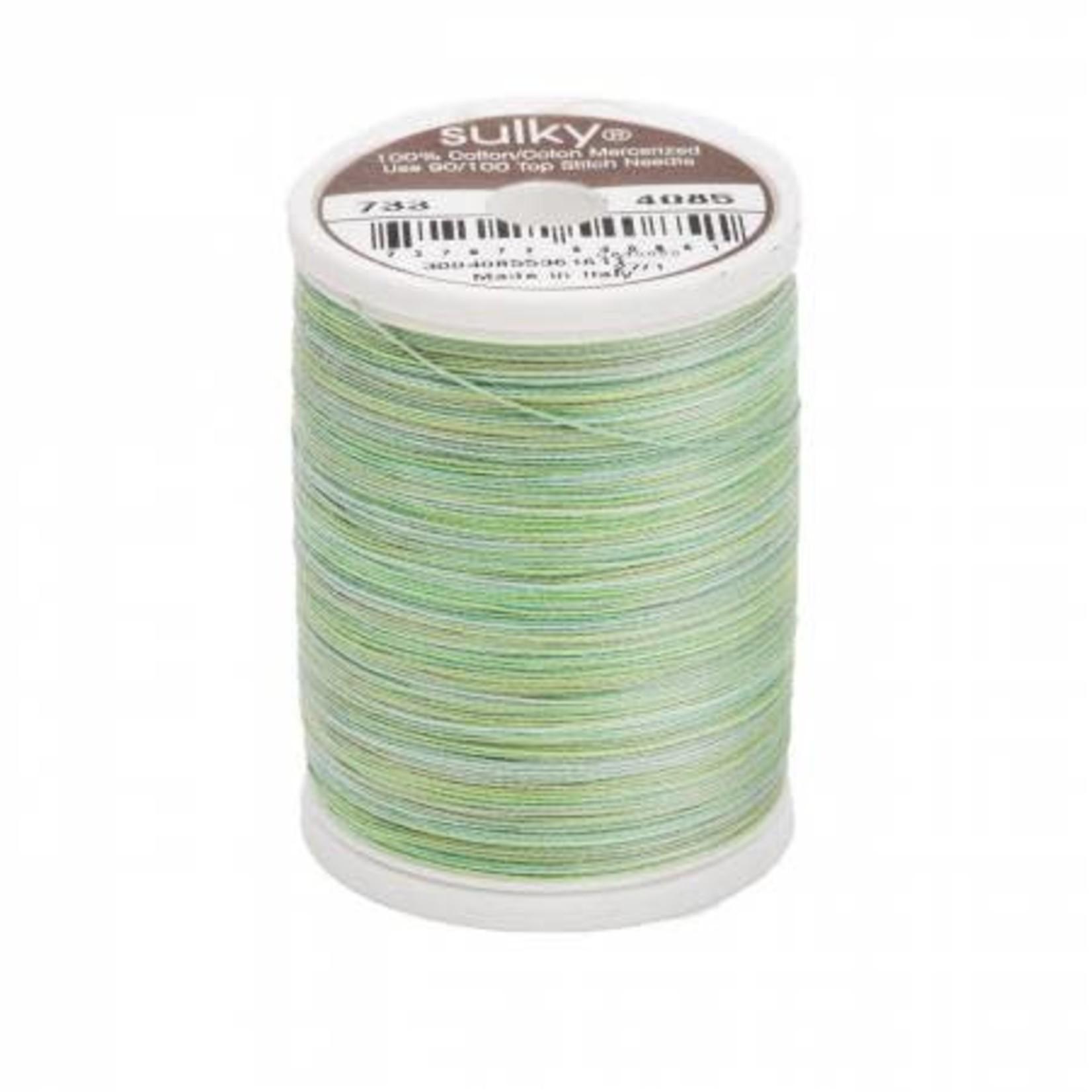 Sulky Blendables Cotton Thread 2-ply 30wt 400d 500yds Green Tea