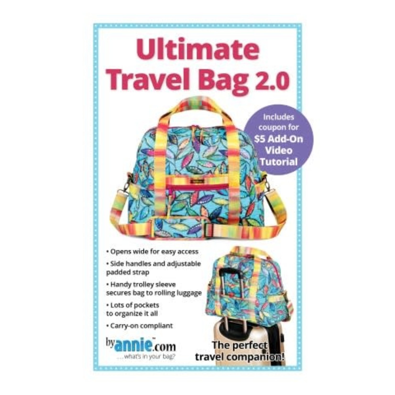 By Annie Ultimate Travel Bag 2.0