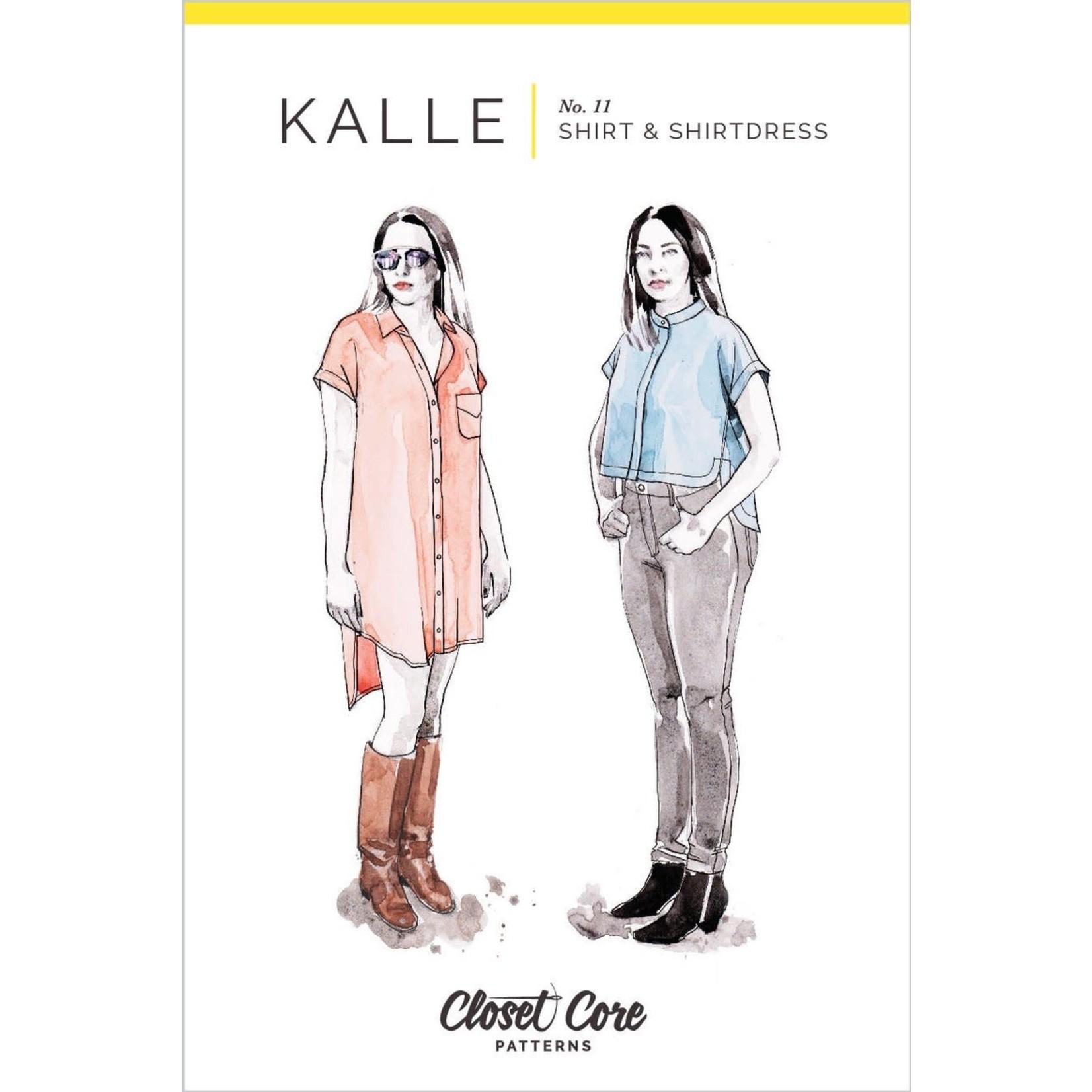 Closet Core Patterns Closet Core - Kalle Shirt and Shirtdress Pattern 0-20