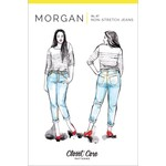 Closet Core Patterns Closet Core - Morgan Boyfriend Jeans Pattern 0-20