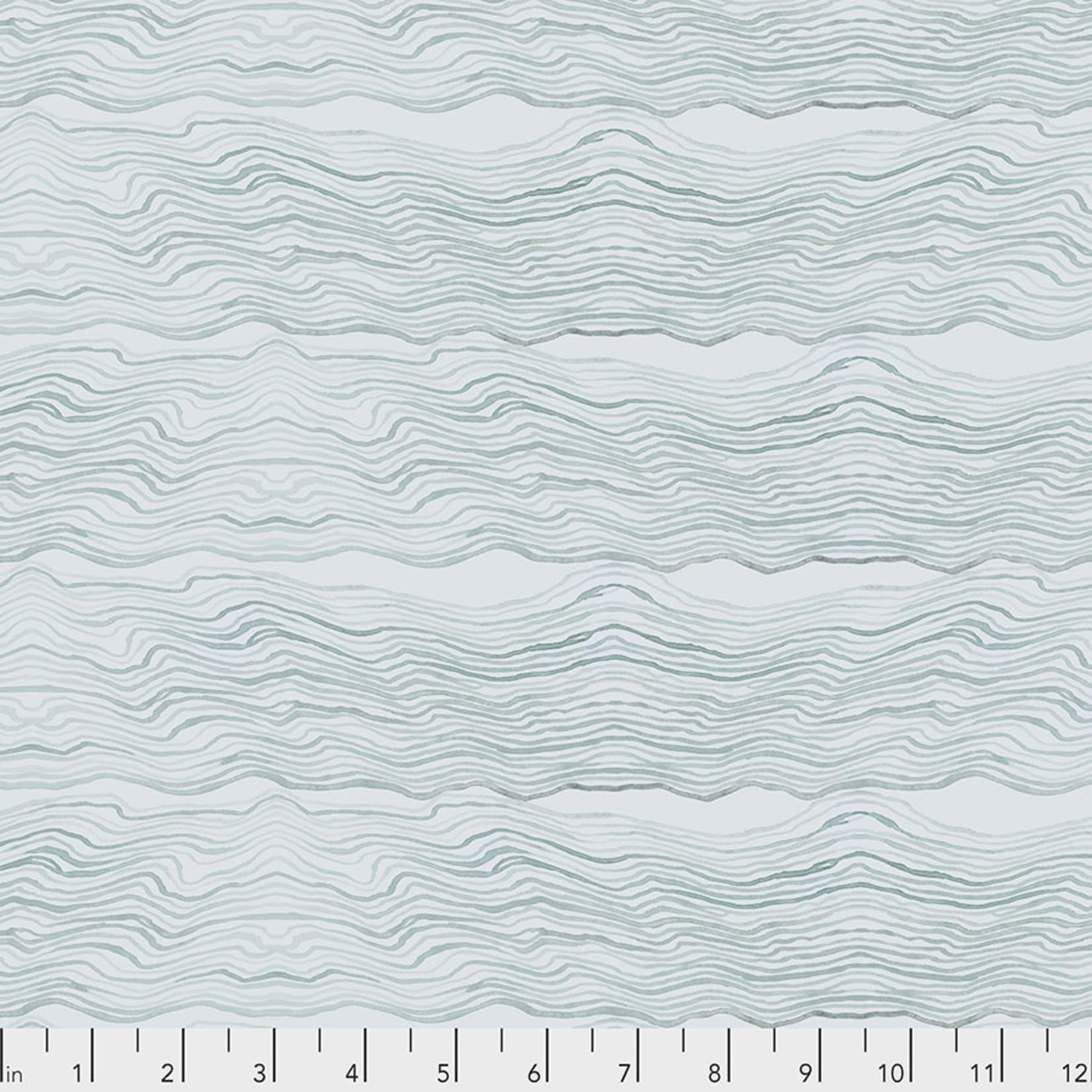 Free Spirit Time and Tide, Ebb & Flow - Ocean - $0.16 per cm or $16/m