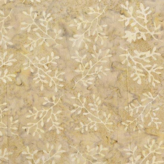 LAUNDRY BASKET QUILTS Baker's Dozen Batiks, Twigs, Beige 8595-L $0.20 per cm or $20/m