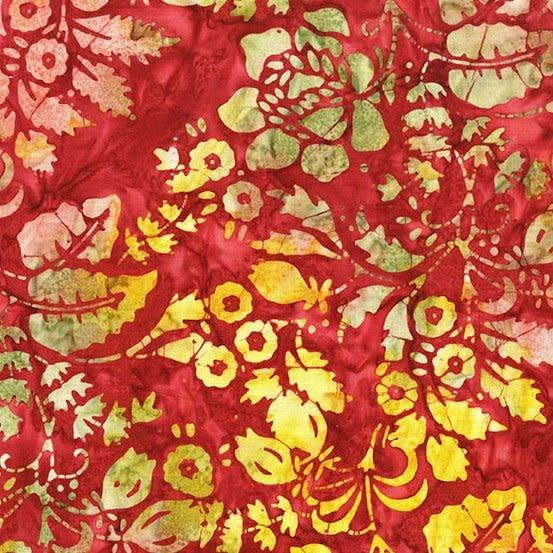 LAUNDRY BASKET QUILTS Splash of Color, Secret Garden, Orchid 8594-P $0.20 per cm or $20/m