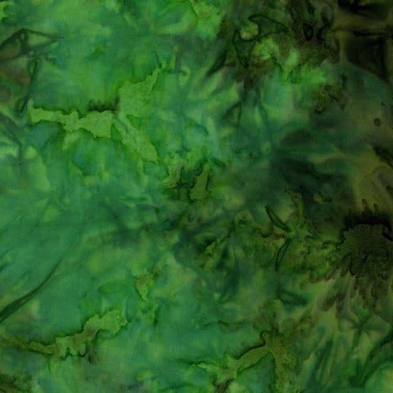 LAUNDRY BASKET QUILTS Splash of Color, Solid, Shamrock 8681-G $0.20 per cm or $20/m