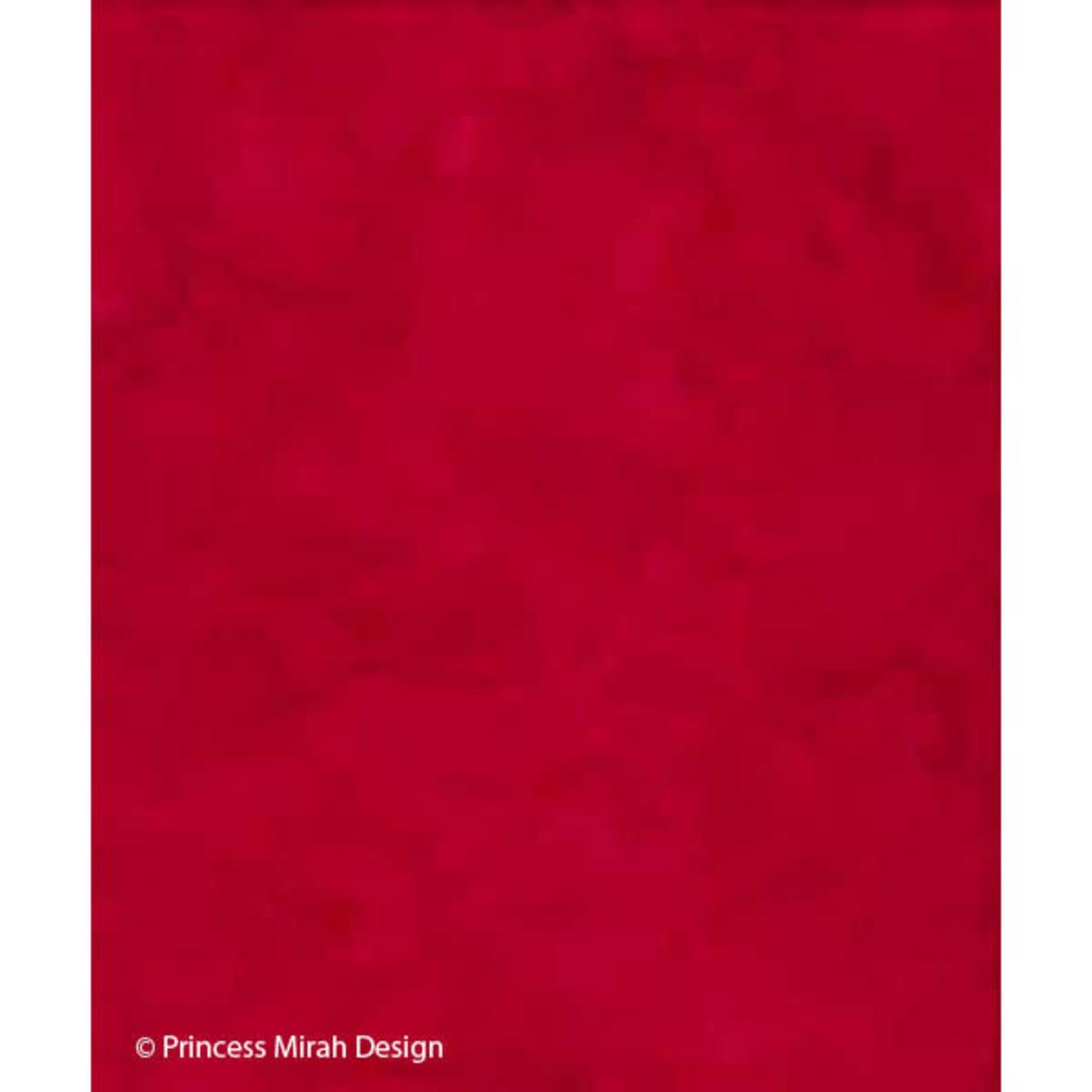 Mirah Zriya Princess Palette, Ribbon Red, UB-10-85 $0.19 per cm or $19/m