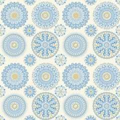 Blank Quilting Corp PRE-CUT FOR BACKING 350cm Celestial Sol - Mandalas, Ecru $10/M
