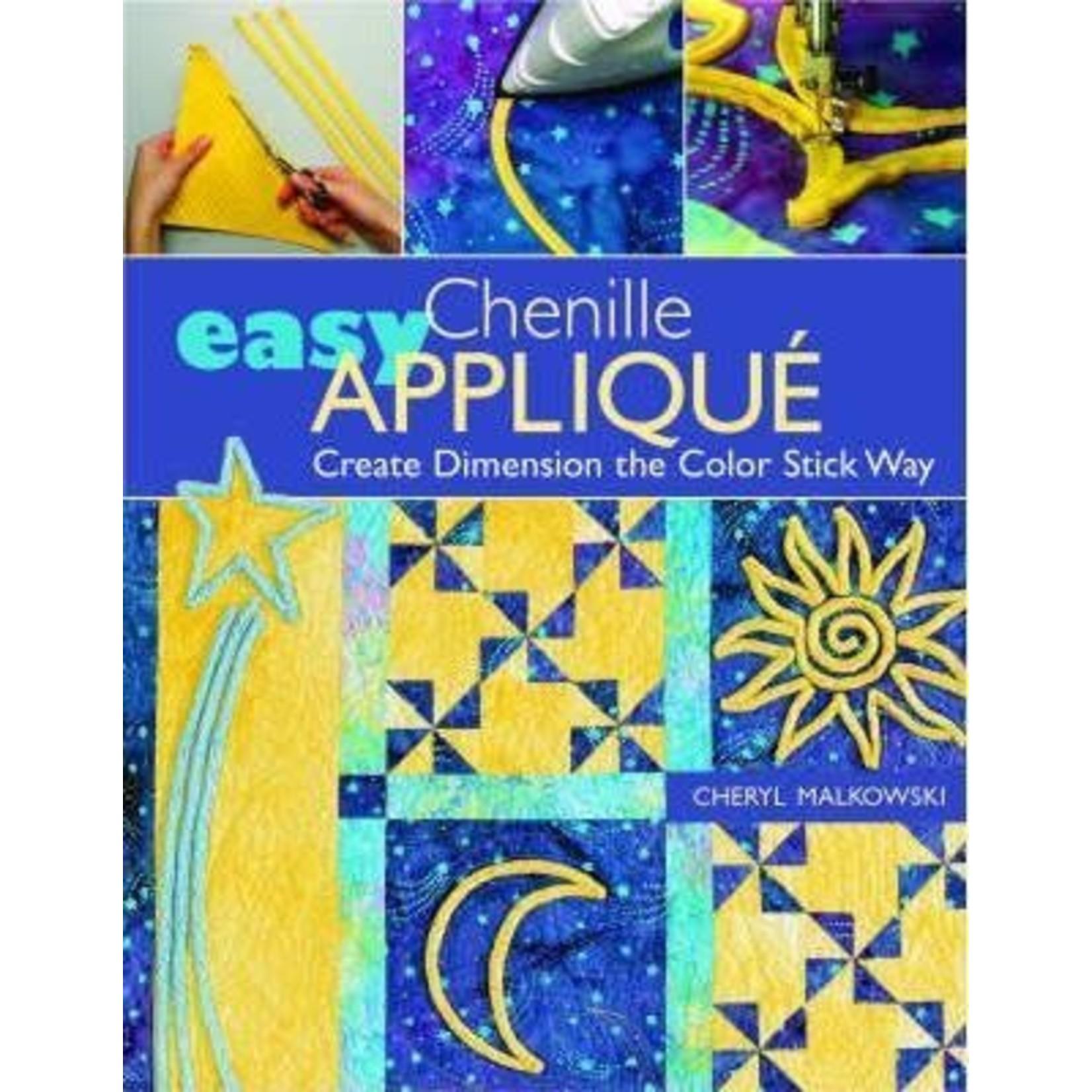 EASY  CHENILLE APPLIQUE BOOK
