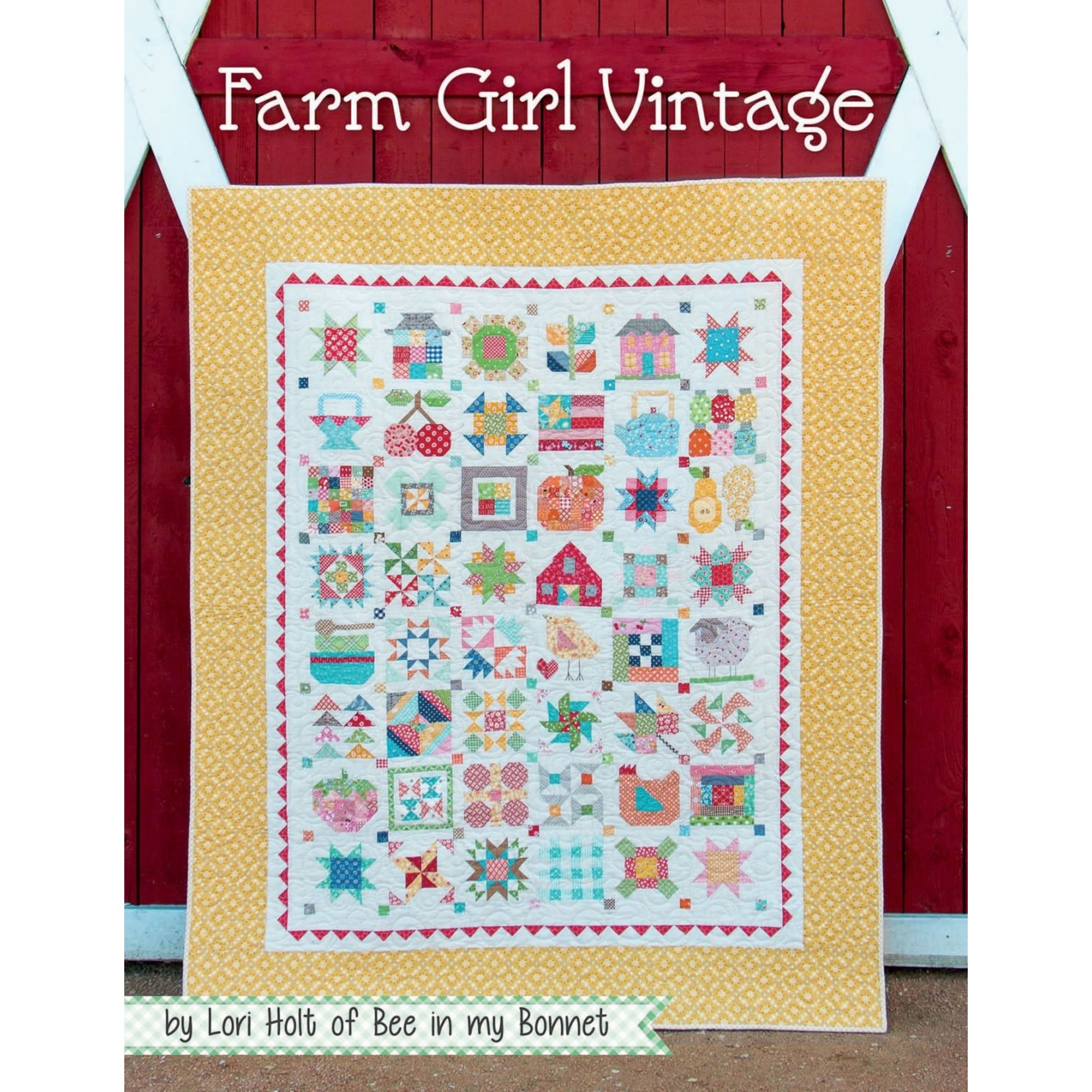 Bee In My Bonnet FARM GIRL VINTAGE BOOK