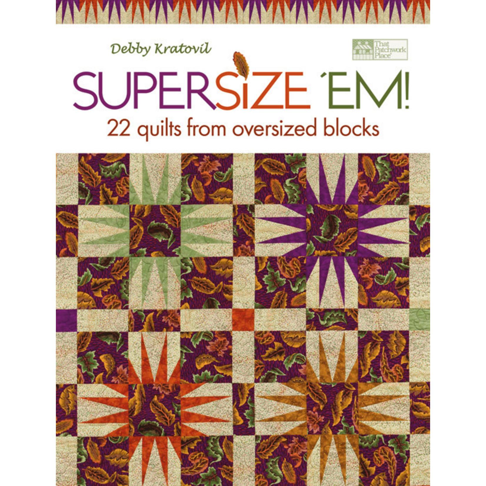 SUPERSIZE 'EM BOOK