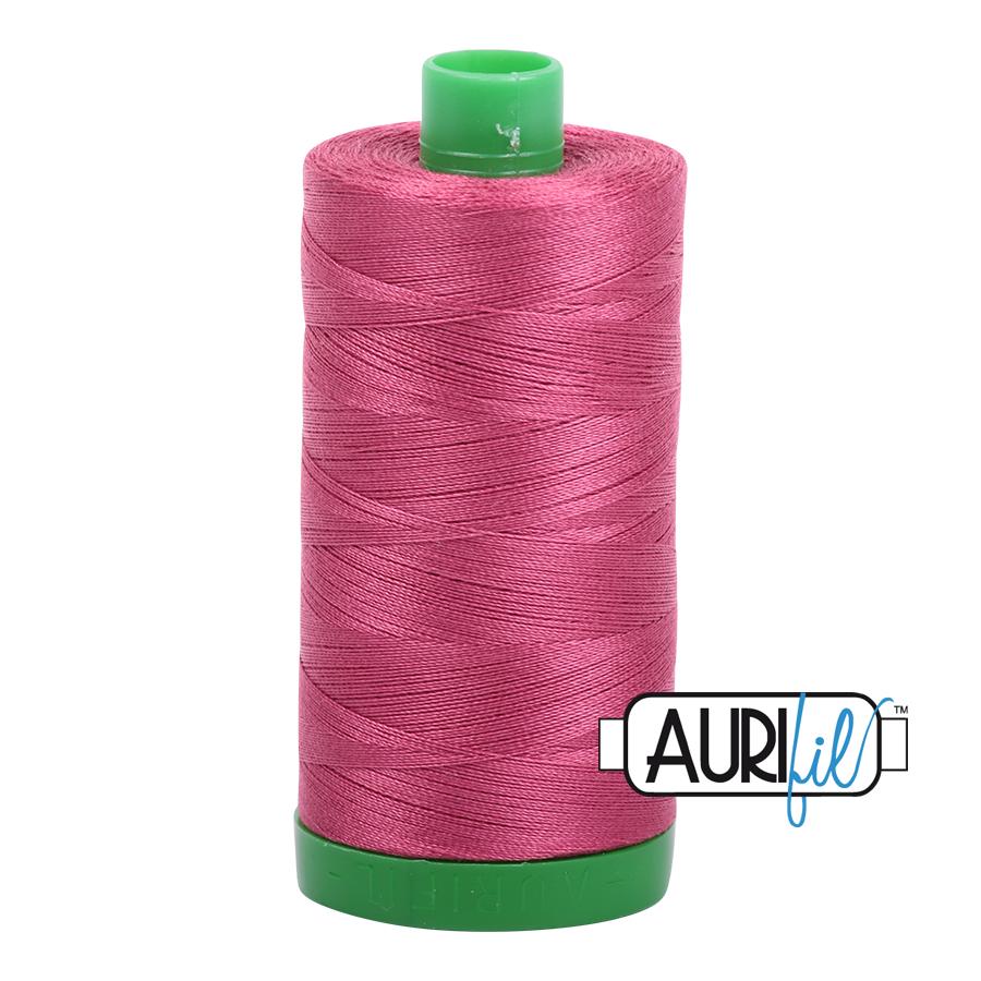 AURIFIL AURIFIL 40 WT Medium Carmine Red 2455