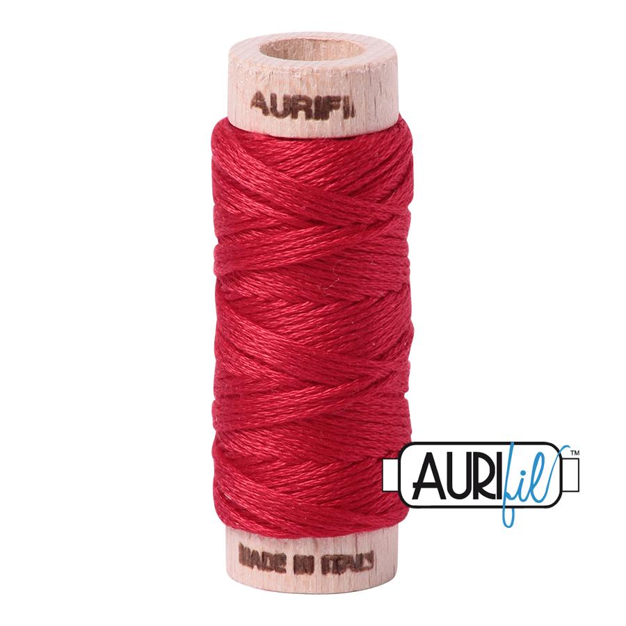 AURIFIL AURIFIL 6 STRAND 18YDS 2250 Red
