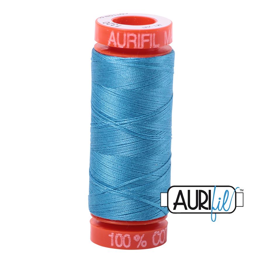 AURIFIL AURIFIL 50 WT Bright Teal 1320 Small Spool