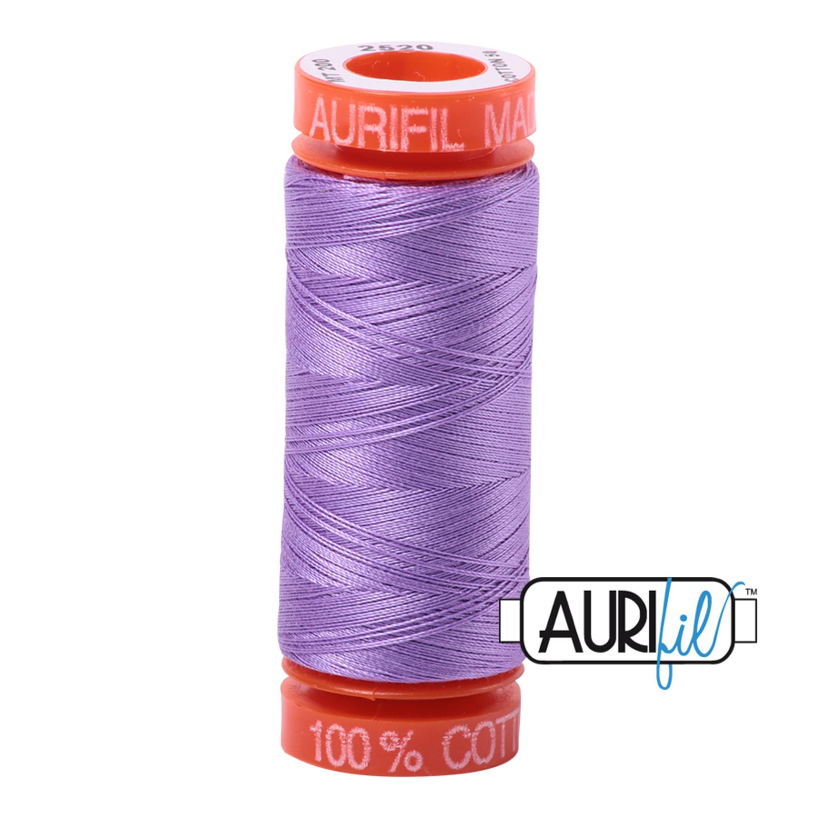 AURIFIL AURIFIL 50 WT Violet 2520 Small Spool