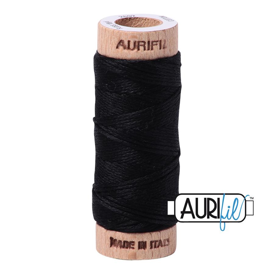 AURIFIL AURIFIL 6 STRAND FLOSS 18YDS 2692 BLACK