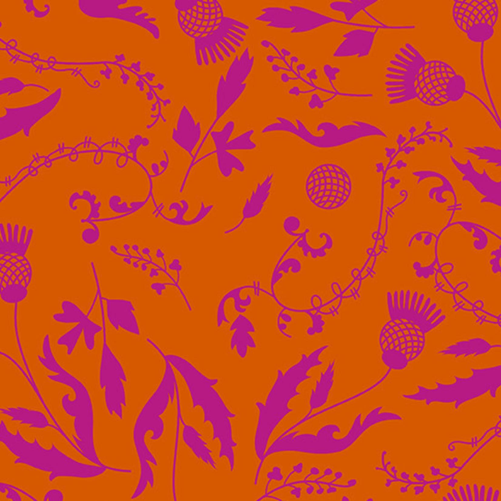 Andover The Andover Collective 9444 O, Orange Botany, $0.19/cm or $19/m