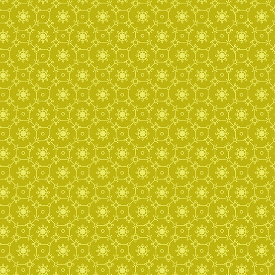 ANDOVER The Andover Collective 9181 Y, Yellow Lace , $0.19/cm or $19/m