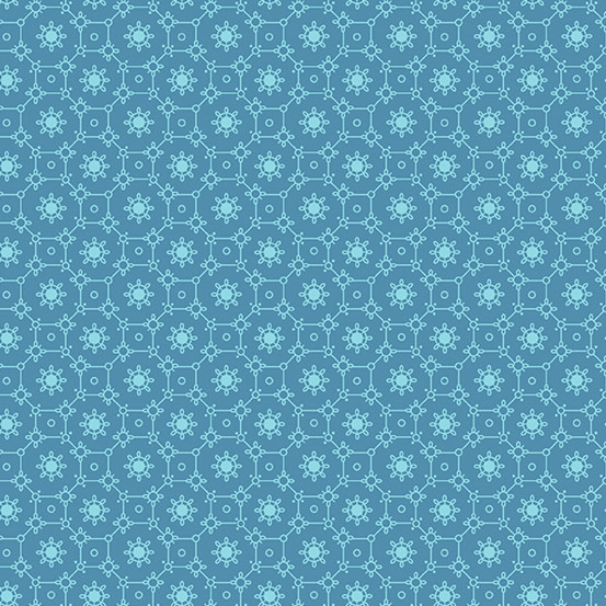 ANDOVER The Andover Collective 9181 T, Teal Lace , $0.19/cm or $19/m