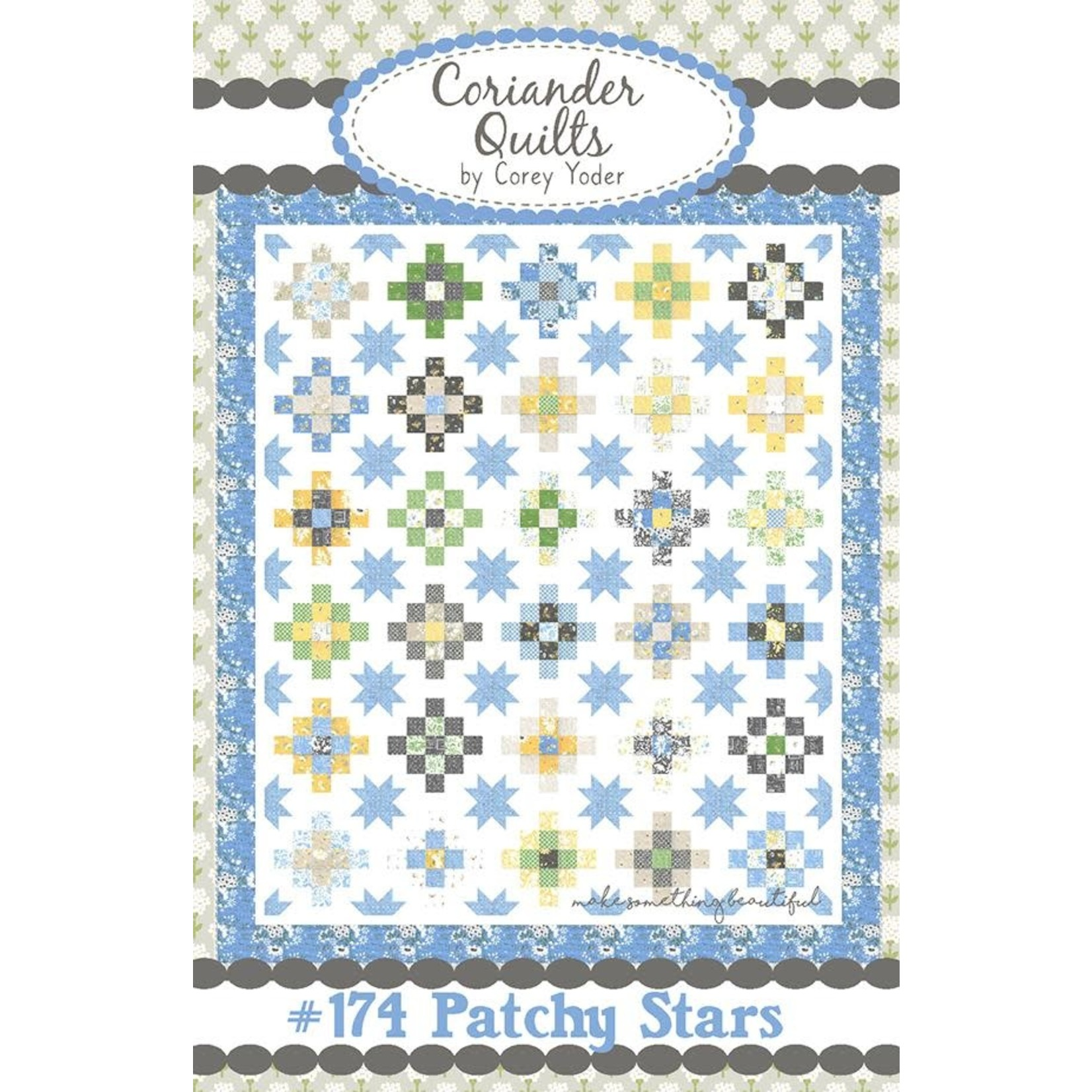 Corey Yoder Spring Brook Patchy Stars Quilt Kit
