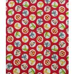 Studio E 385CM ABC SAFARI, RED CIRCLES