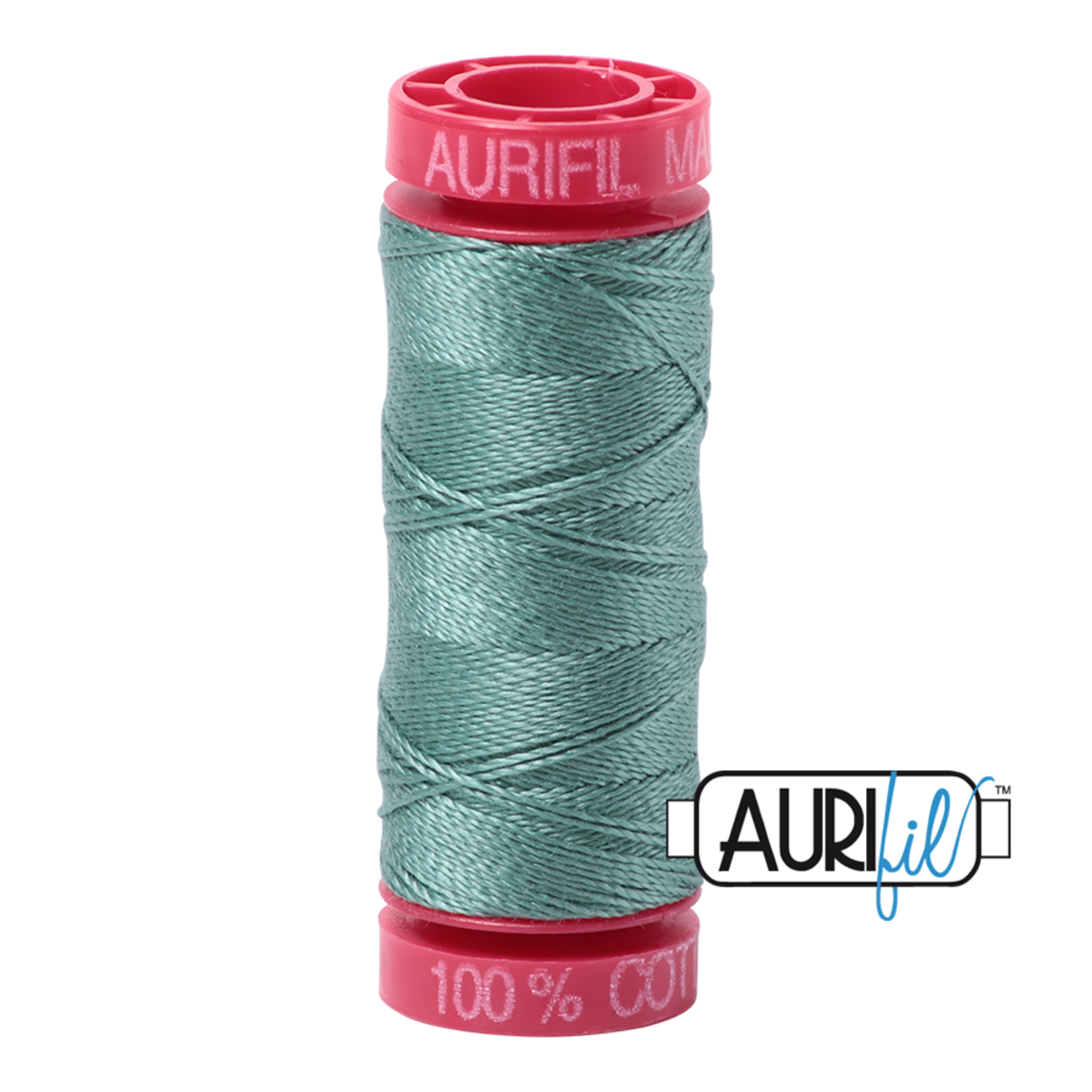 AURIFIL AURIFIL 12 WT Medium Juniper 2850 Small Spool