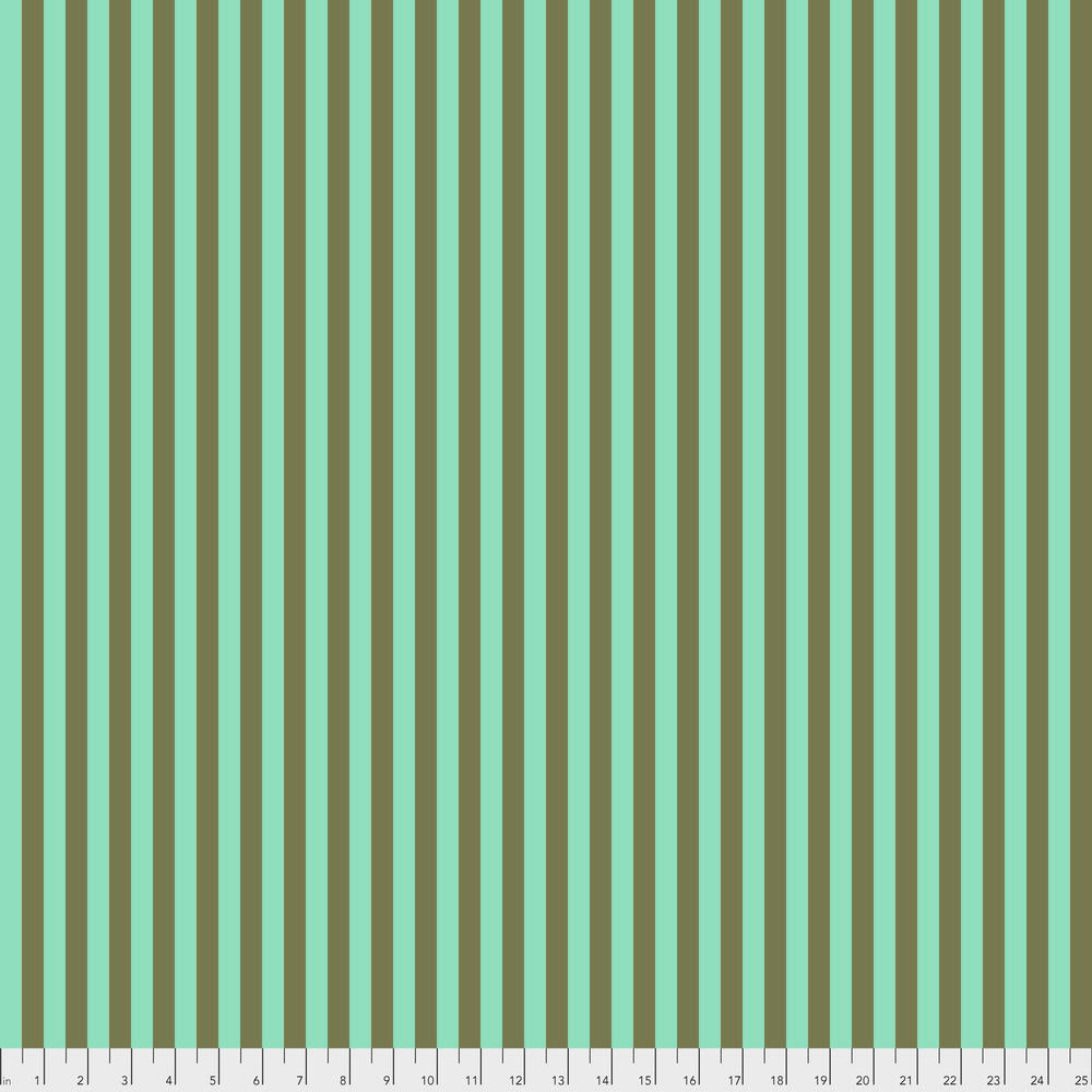 Tula Pink Tula Tent Stripe- Agave 0.17 per cm or $17/m