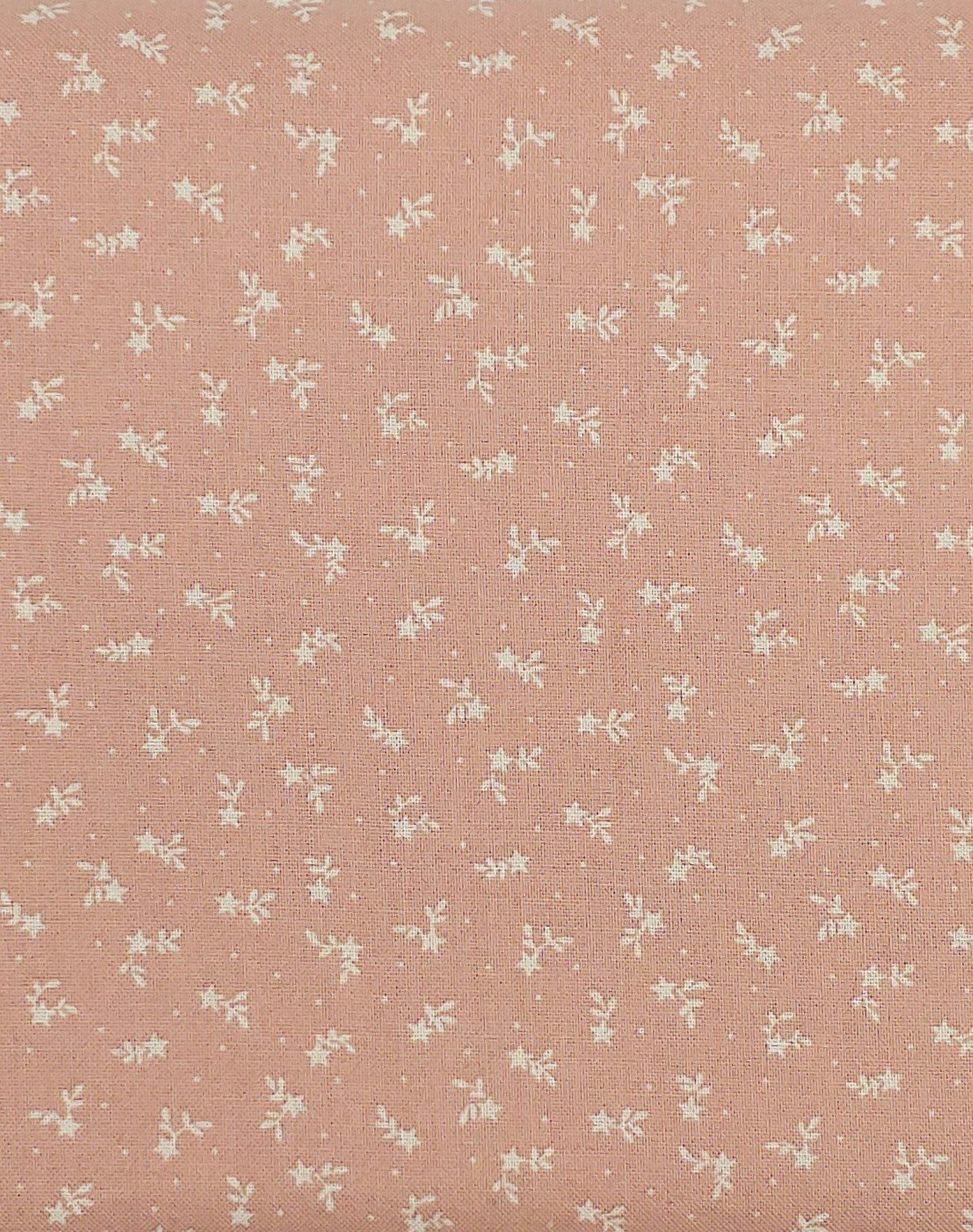 LECIEN PER CM OR $13/M LECIEN Tiny Stars and Branches Pink